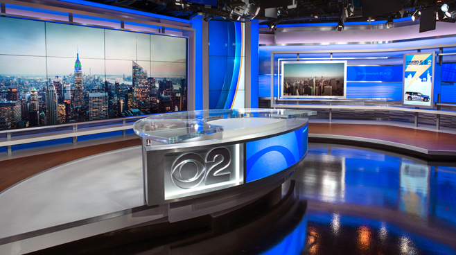 WCBS - New York, NY - News Sets Set Design - 1