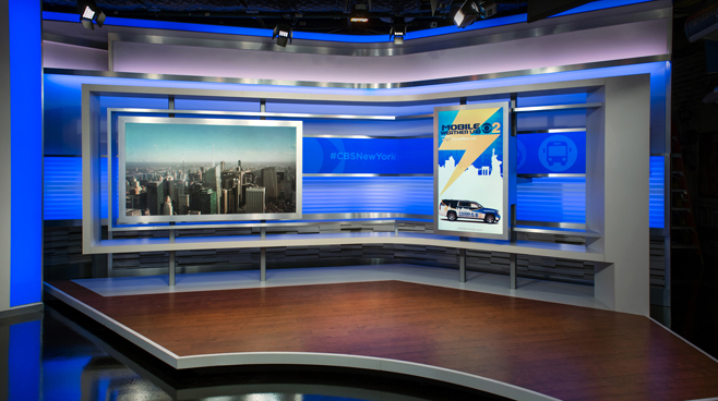 WCBS - New York, NY - News Sets Set Design - 10