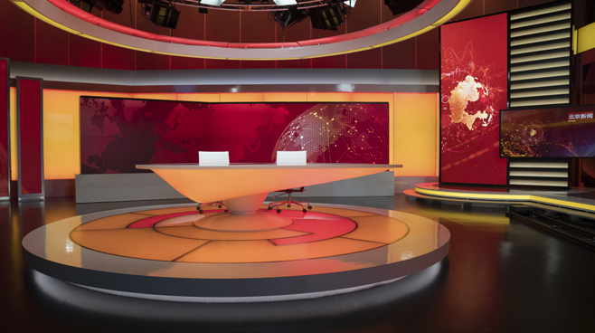 BTV - Beijing - News Sets Set Design - 3
