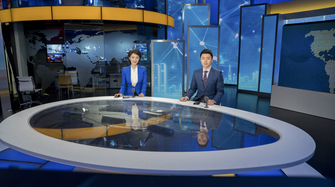 BTV - Beijing - News Sets Set Design - 4
