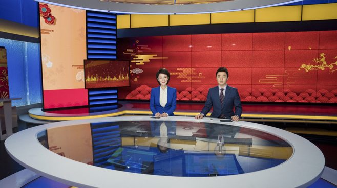 BTV - Beijing - News Sets Set Design - 5