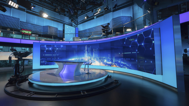 BTV - Beijing - News Sets Set Design - 7