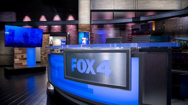 WDAF - Kansas City, MO - News Sets Set Design - 1