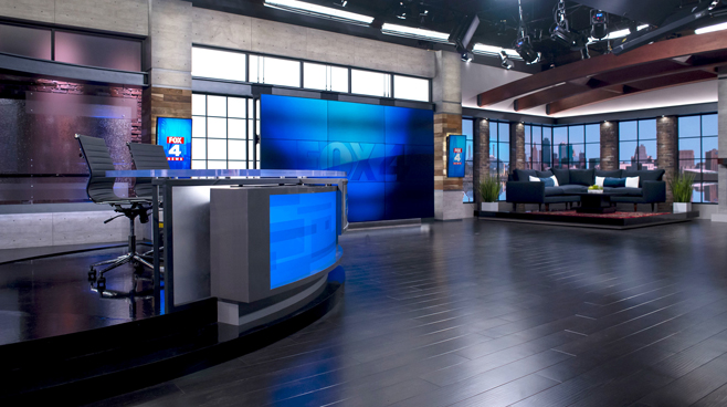 WDAF - Kansas City, MO - News Sets Set Design - 2