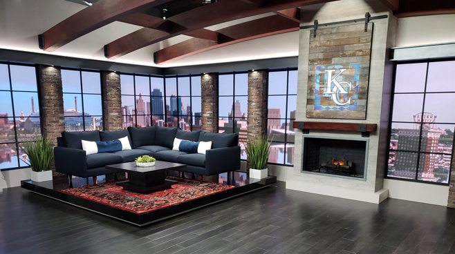 WDAF - Kansas City, MO - News Sets Set Design - 3