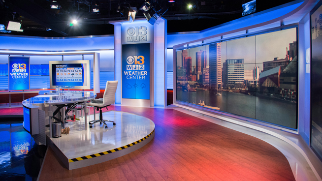WJZ - Baltimore, MD - News Sets Set Design - 4