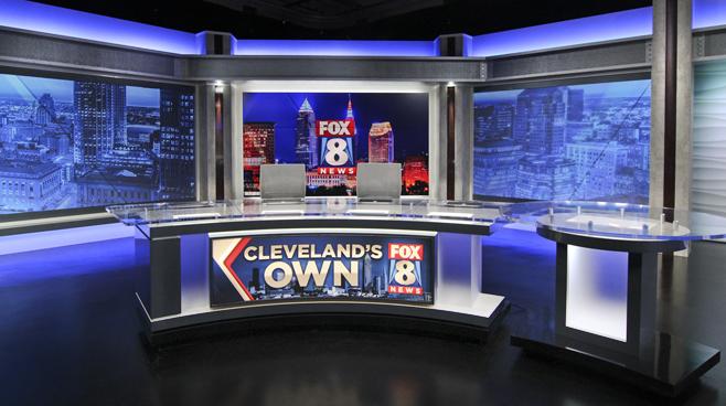 WJW - Cleveland, OH - News Sets Set Design - 1