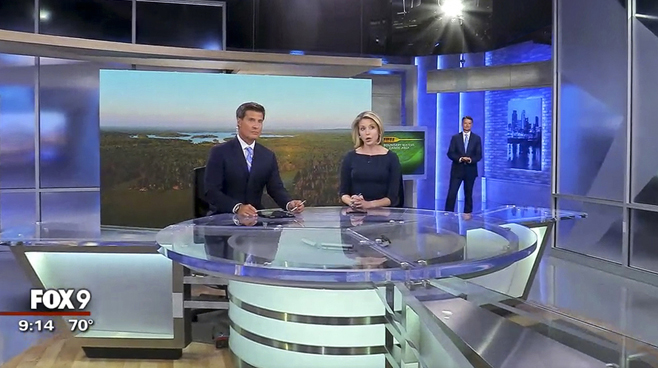 KMSP - Minneapolis, MN - News Sets Set Design - 5