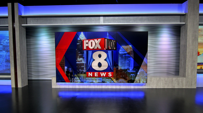 WJW - Cleveland, OH - News Sets Set Design - 3