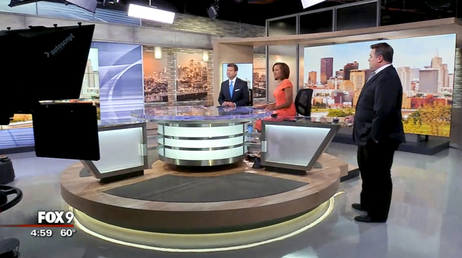 KMSP - Minneapolis, MN - News Sets Set Design - 1