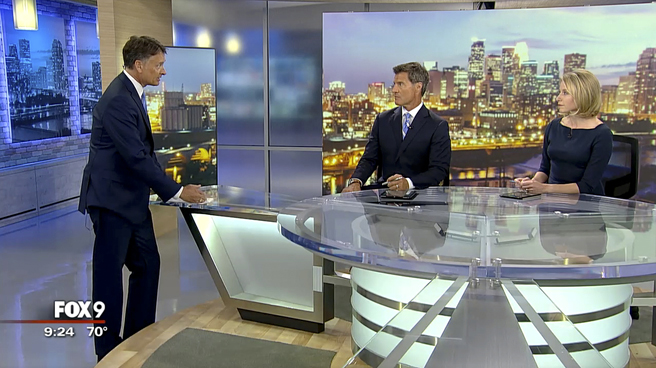 KMSP - Minneapolis, MN - News Sets Set Design - 3