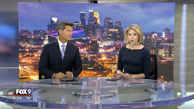 KMSP - Minneapolis, MN - News Sets Set Design - 7