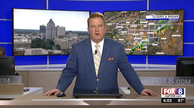 WGHP - High Point, NC - News Sets Set Design - 9