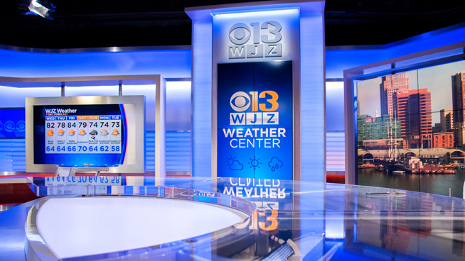WJZ - Baltimore, MD - Weather Centers Set Design - 3