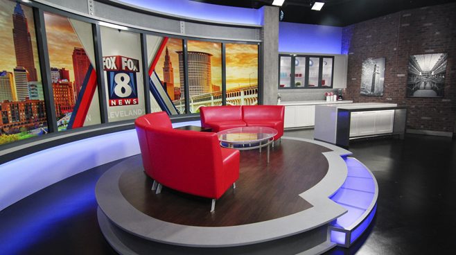 WJW - Cleveland, OH - Talk Shows Set Design - 2