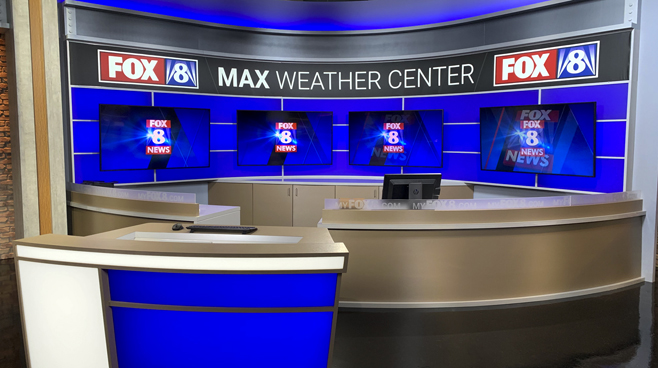 WGHP - High Point, NC - Weather Centers Set Design - 1