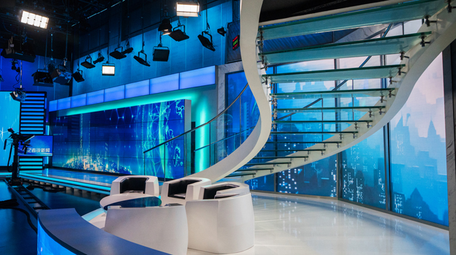 BTV - Beijing, China - Talk Shows Set Design - 1