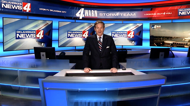 KFOR - Oklahoma City, OK - Newsrooms Set Design - 1