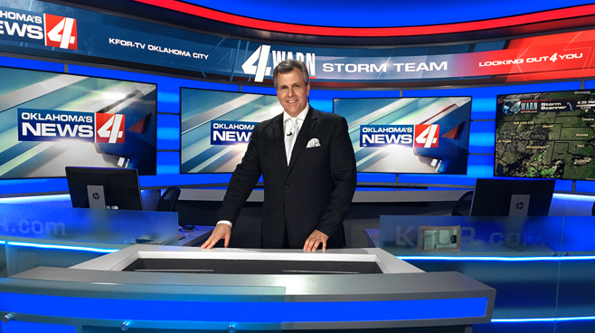 KFOR - Oklahoma City, OK - Newsrooms Set Design - 2
