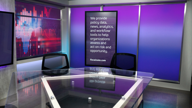 FiscalNote - Washington, DC - News Sets Set Design - 4