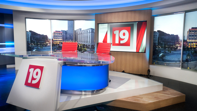 WOIO - Cleveland, OH - News Sets Set Design - 3