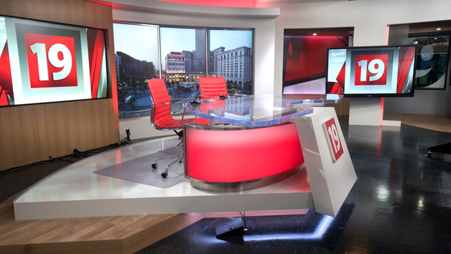 WOIO - Cleveland, OH - News Sets Set Design - 5