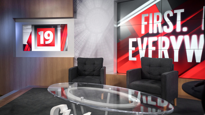 WOIO - Cleveland, OH - News Sets Set Design - 18