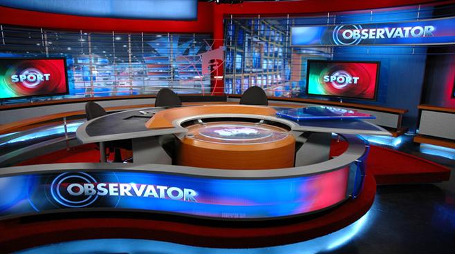 Antenna One -  - News Sets Set Design - 2