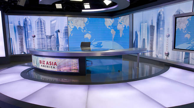 CCTV - Washington. DC - News Sets Set Design - 1