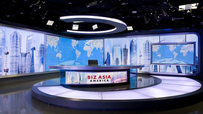 CCTV - Washington. DC - News Sets Set Design - 3