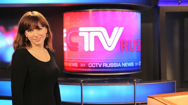 CCTV Russia - Moscow - News Sets Set Design - 1