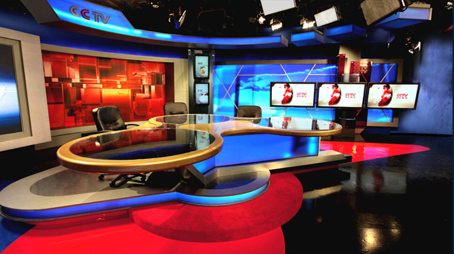 CCTV Beijing - Beijing - News Sets Set Design - 1