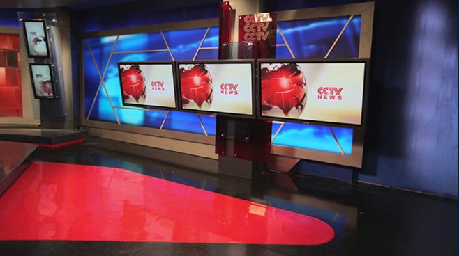 CCTV Beijing - Beijing - News Sets Set Design - 2