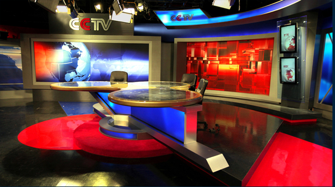 CCTV Beijing - Beijing - News Sets Set Design - 3