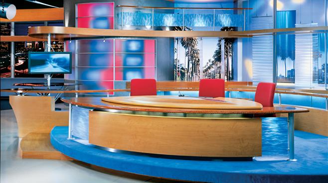FOX Good Day Live -  - News Sets Set Design - 1