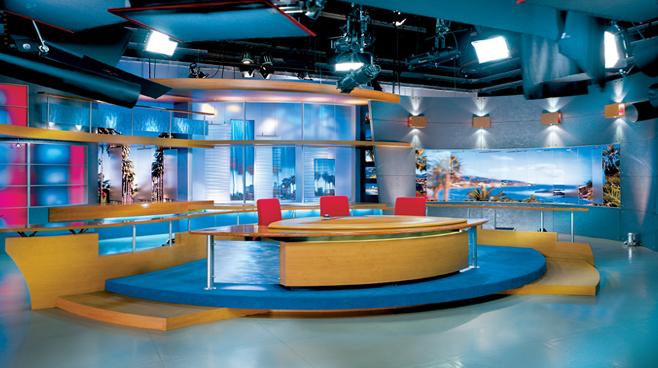 FOX Good Day Live -  - News Sets Set Design - 3