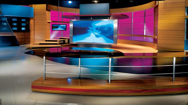 KCOP - Los Angeles - News Sets Set Design - 2