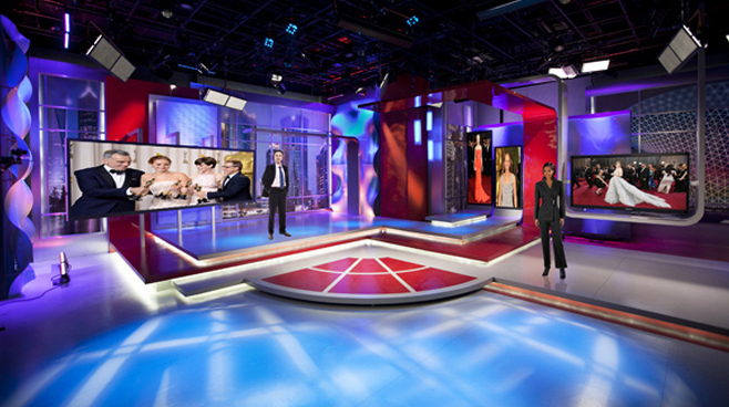 SMG - Shanghai, China - News Sets Set Design - 1