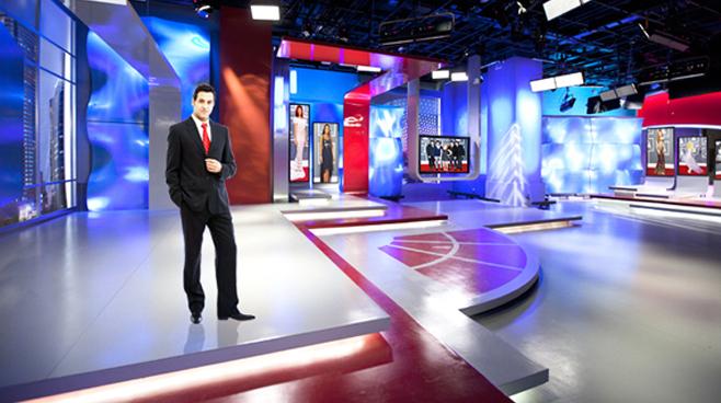 SMG - Shanghai, China - News Sets Set Design - 3