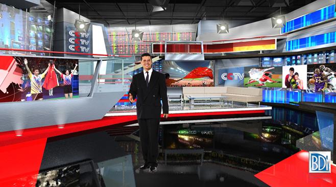CCTV  - Beijing, China - Virtual Sets Set Design - 2