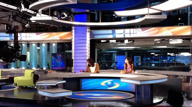 Caracol - Columbia - News Sets Set Design - 6