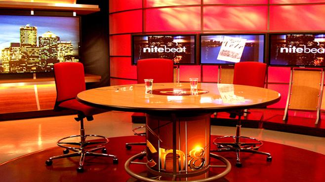 Comcast Night Beat - Boston, MA - Talk Shows Set Design - 2