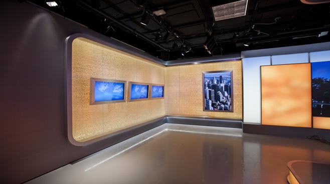 CCTV Washington DC - Washington DC - News Sets Set Design - 6