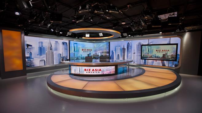 CCTV - Washington. DC - News Sets Set Design - 5