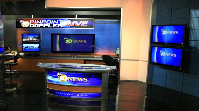 KGTV - San Diego - Weather Centers Set Design - 2