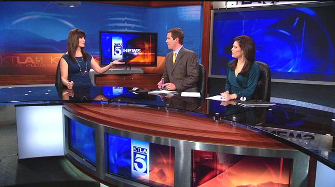 KTLA - Los  Angeles - News Sets Set Design - 4