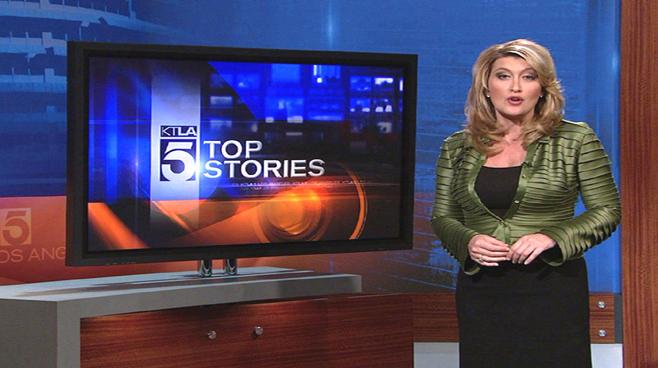 KTLA - Los  Angeles - News Sets Set Design - 5