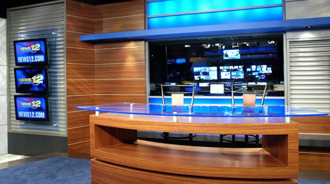 News 12 New Jersey - New Jersey - News Sets Set Design - 2