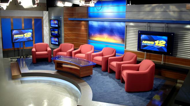 News 12 New Jersey - New Jersey - News Sets Set Design - 3
