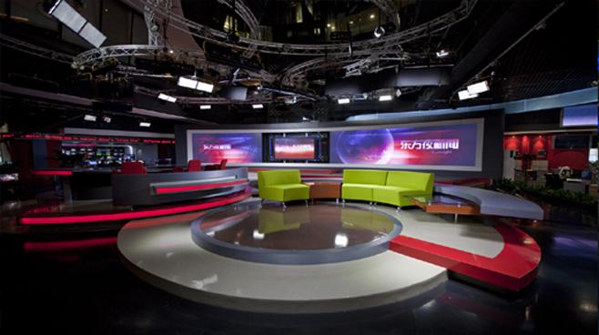 SMG - Shanghai - News Sets Set Design - 1